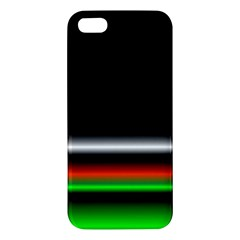 Colorful Neon Background Images Apple Iphone 5 Premium Hardshell Case