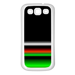 Colorful Neon Background Images Samsung Galaxy S3 Back Case (white)