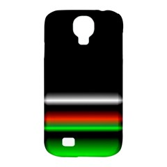 Colorful Neon Background Images Samsung Galaxy S4 Classic Hardshell Case (pc+silicone)