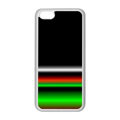Colorful Neon Background Images Apple Iphone 5c Seamless Case (white)