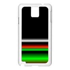 Colorful Neon Background Images Samsung Galaxy Note 3 N9005 Case (white)