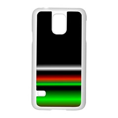 Colorful Neon Background Images Samsung Galaxy S5 Case (white)