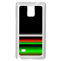 Colorful Neon Background Images Samsung Galaxy Note 4 Case (white)