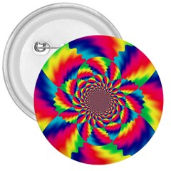 Colorful Psychedelic Art Background 3  Buttons