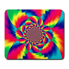 Colorful Psychedelic Art Background Large Mousepads