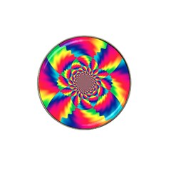 Colorful Psychedelic Art Background Hat Clip Ball Marker (4 Pack)