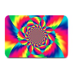 Colorful Psychedelic Art Background Plate Mats