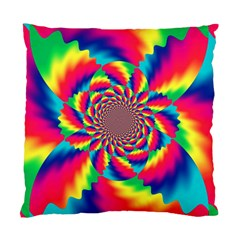 Colorful Psychedelic Art Background Standard Cushion Case (one Side)