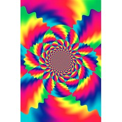 Colorful Psychedelic Art Background 5 5  X 8 5  Notebooks
