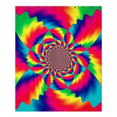 Colorful Psychedelic Art Background Shower Curtain 60  X 72  (medium)