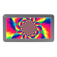 Colorful Psychedelic Art Background Memory Card Reader (mini)