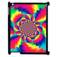 Colorful Psychedelic Art Background Apple Ipad 2 Case (black)
