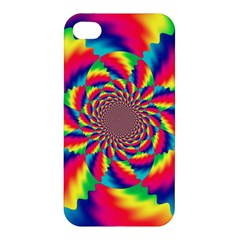 Colorful Psychedelic Art Background Apple Iphone 4/4s Premium Hardshell Case