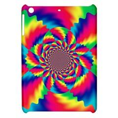 Colorful Psychedelic Art Background Apple Ipad Mini Hardshell Case