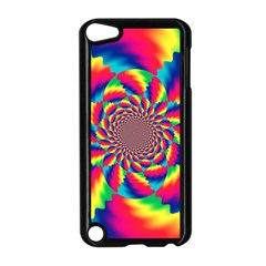 Colorful Psychedelic Art Background Apple Ipod Touch 5 Case (black)