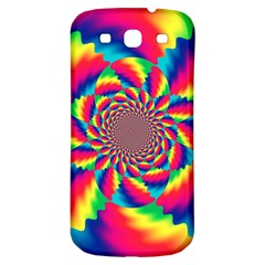 Colorful Psychedelic Art Background Samsung Galaxy S3 S Iii Classic Hardshell Back Case