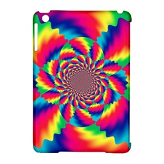 Colorful Psychedelic Art Background Apple Ipad Mini Hardshell Case (compatible With Smart Cover)
