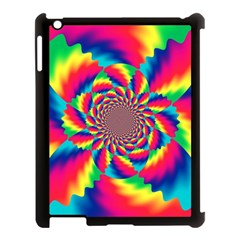 Colorful Psychedelic Art Background Apple Ipad 3/4 Case (black)