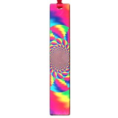 Colorful Psychedelic Art Background Large Book Marks