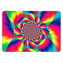 Colorful Psychedelic Art Background Samsung Galaxy Tab 8 9  P7300 Flip Case