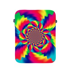Colorful Psychedelic Art Background Apple Ipad 2/3/4 Protective Soft Cases
