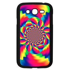 Colorful Psychedelic Art Background Samsung Galaxy Grand Duos I9082 Case (black)