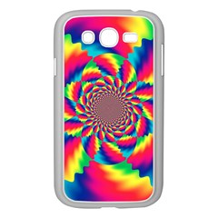 Colorful Psychedelic Art Background Samsung Galaxy Grand Duos I9082 Case (white)