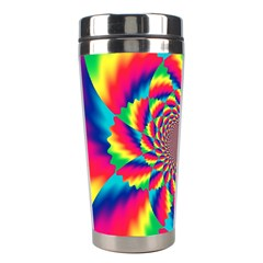 Colorful Psychedelic Art Background Stainless Steel Travel Tumblers