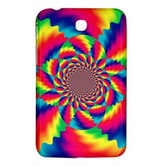 Colorful Psychedelic Art Background Samsung Galaxy Tab 3 (7 ) P3200 Hardshell Case