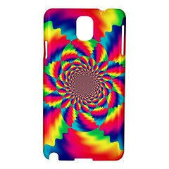 Colorful Psychedelic Art Background Samsung Galaxy Note 3 N9005 Hardshell Case