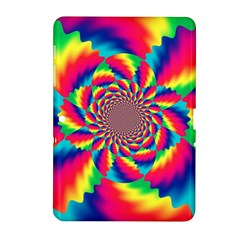 Colorful Psychedelic Art Background Samsung Galaxy Tab 2 (10 1 ) P5100 Hardshell Case