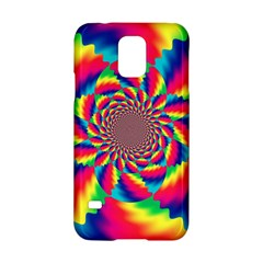 Colorful Psychedelic Art Background Samsung Galaxy S5 Hardshell Case