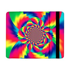 Colorful Psychedelic Art Background Samsung Galaxy Tab Pro 8 4  Flip Case
