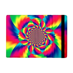 Colorful Psychedelic Art Background Ipad Mini 2 Flip Cases