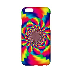 Colorful Psychedelic Art Background Apple Iphone 6/6s Hardshell Case