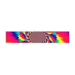 Colorful Psychedelic Art Background Flano Scarf (mini)
