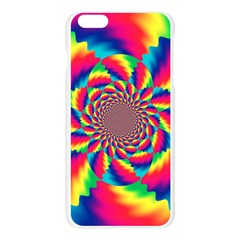Colorful Psychedelic Art Background Apple Seamless iPhone 6 Plus/6S Plus Case (Transparent)