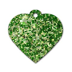 Crop Rotation Kansas Dog Tag Heart (one Side)