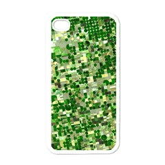 Crop Rotation Kansas Apple Iphone 4 Case (white)