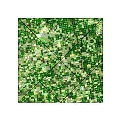 Crop Rotation Kansas Acrylic Tangram Puzzle (4  X 4 )