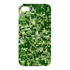 Crop Rotation Kansas Apple Iphone 4/4s Premium Hardshell Case
