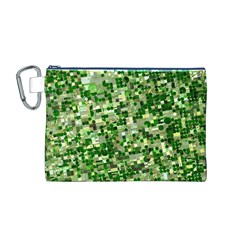 Crop Rotation Kansas Canvas Cosmetic Bag (m)