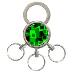 Cyber Glow 3 Ring Key Chains