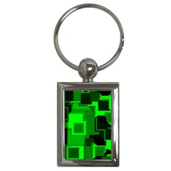 Cyber Glow Key Chains (rectangle)