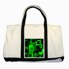 Cyber Glow Two Tone Tote Bag