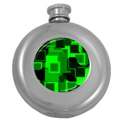 Cyber Glow Round Hip Flask (5 oz)