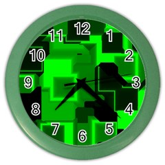 Cyber Glow Color Wall Clocks