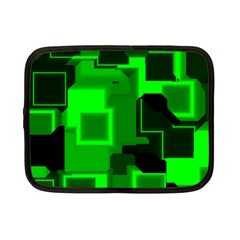 Cyber Glow Netbook Case (small)