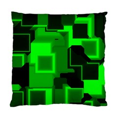 Cyber Glow Standard Cushion Case (two Sides)