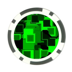 Cyber Glow Poker Chip Card Guard (10 Pack)